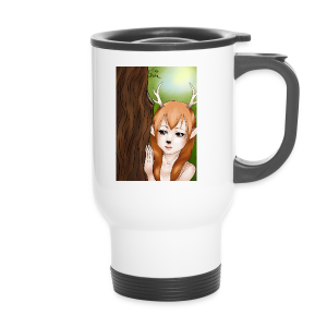 Sam sung s6:Deer-girl design by Tina Ditte - Travel Mug
