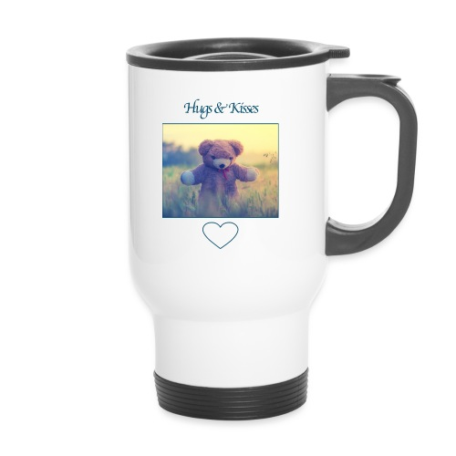 Hugs & Kisses: Phone Case - Thermal mug with handle