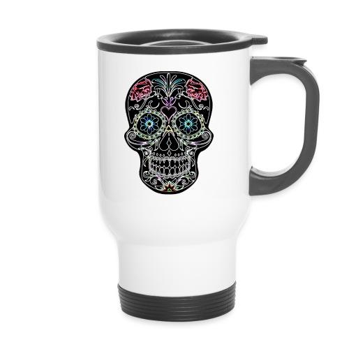 Floral Skull - Travel Mug