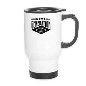 Diseño vintage Next Generation - Travel Mug