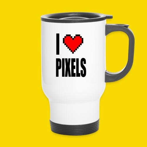 I Love Pixels - Kubek termiczny