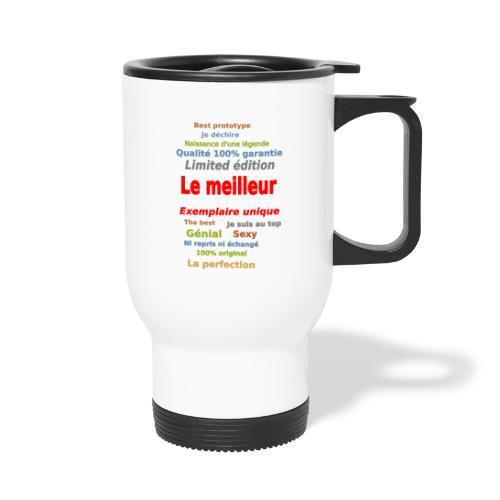 t shirt le meilleur sweat shirt coque et mugs - Mug thermos