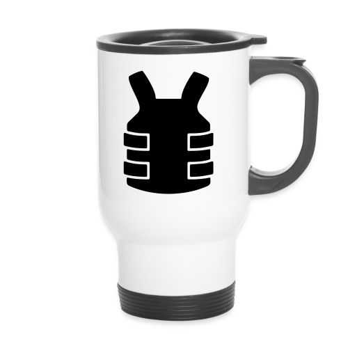 Bullet Proof Design - Thermal mug with handle