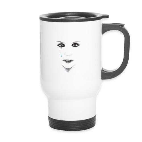 Blue tear - Mug thermos