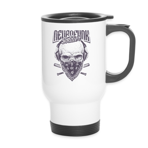 neurofunk soldier - Mug thermos