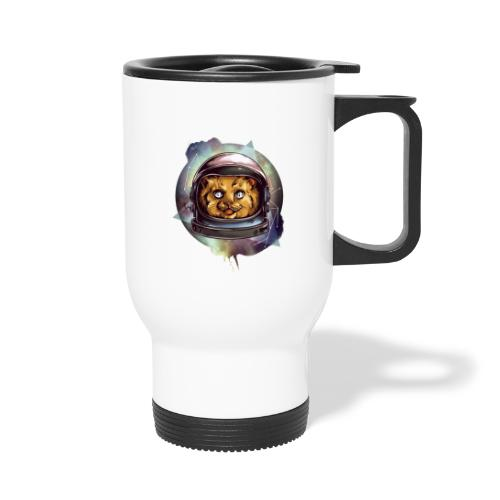 Cute astronaut kitten - Travel Mug