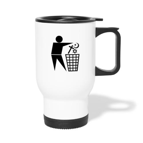 Anti Religion # 1 - Thermal mug with handle