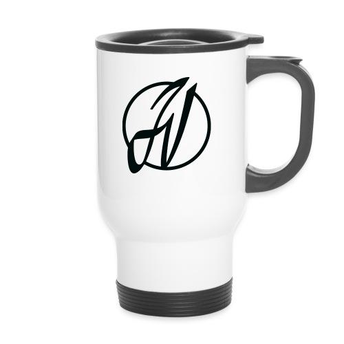 JV Guitars - logo noir - Mug thermos