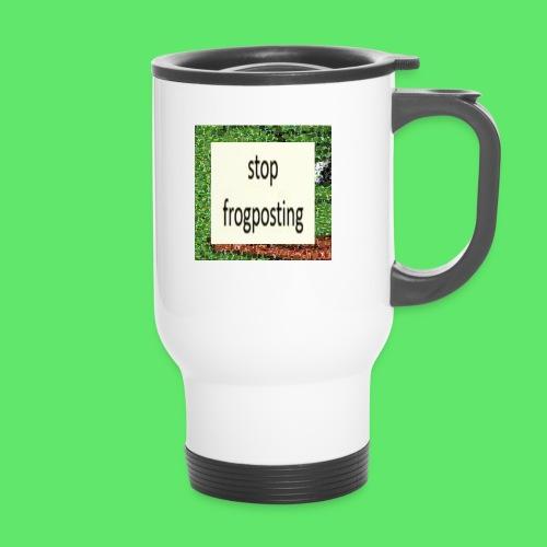 Frogposter - Thermal mug with handle
