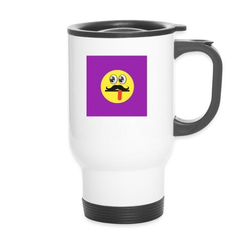 Funky logo - Thermal mug with handle