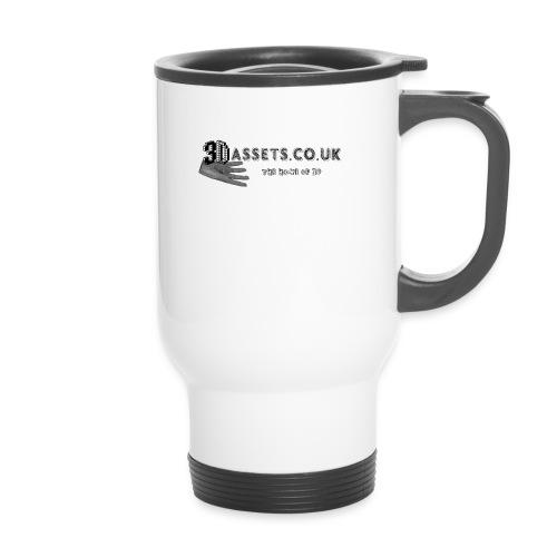 3dassets co uk logo - Thermal mug with handle