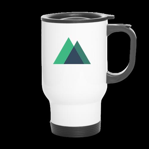 Mountain Logo - Travel Mug