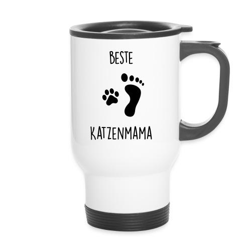 Vorschau: Beste Katzenmama - Thermobecher