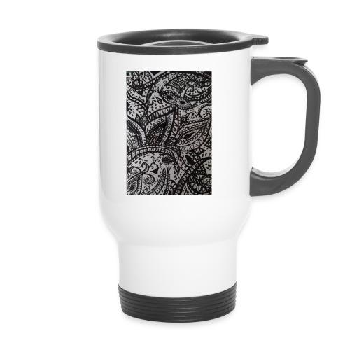 henna - Thermal mug with handle
