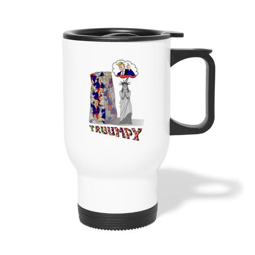 t shirt truumpy Trump niveau bas de la politique - Mug thermos