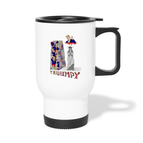 truumpy Trump jusqu'où le niveau bas politique FS - Mug thermos