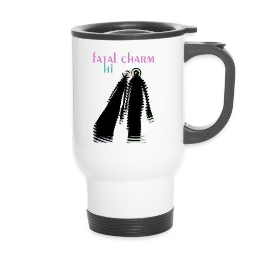 fatal charm - hi album cover art - Travel Mug