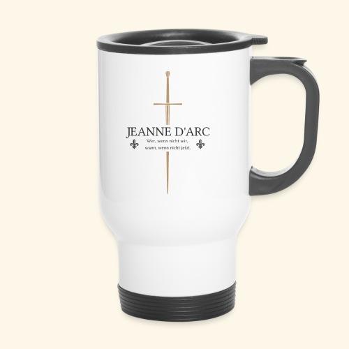 Jeanne d arc dark - Thermobecher mit Tragegriff