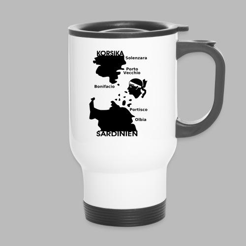 Korsika Sardinien Mori - Thermobecher mit Tragegriff