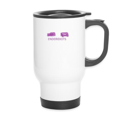 enderproductions enderidiots design - Travel Mug