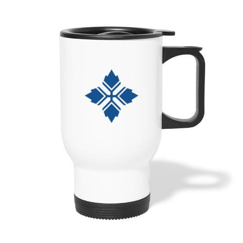 Konty logo sininen - Kahvallinen termosmuki