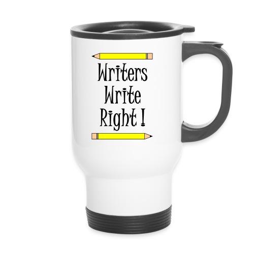 Writers Write Right - Travel Mug