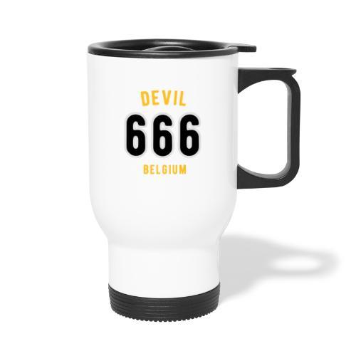 666 devil Belgium - Mug thermos