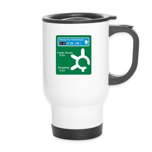 HOME_FOR_CHRISTMAS_SIGN - Travel Mug