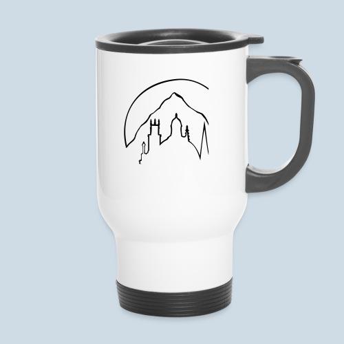 NewLogoPunkCorner - Thermal mug with handle