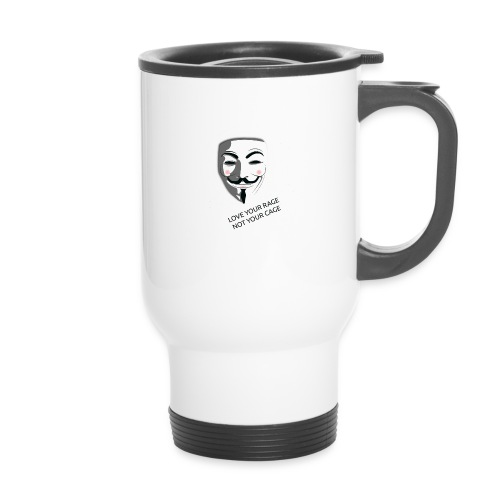 Anonymous Love Your Rage - Thermal mug with handle