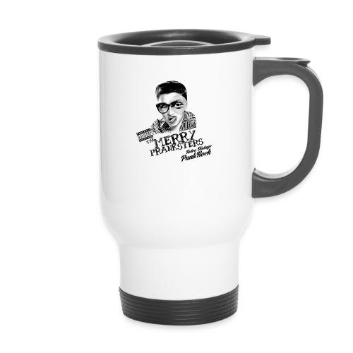 The Merry Pranksters Standard - Black T-Shirt - Travel Mug