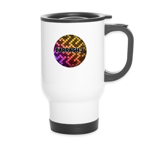 Darragh J logo - Travel Mug