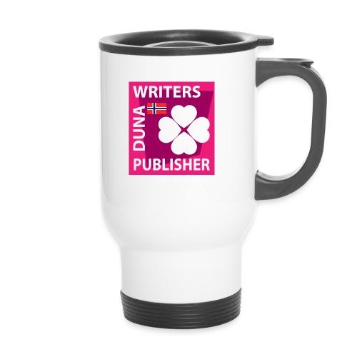 Duna Writers Publisher Pink - Termokopp med håndtak