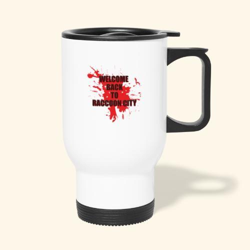 Welcome Back to Raccoon City TEXT 01 - Travel Mug