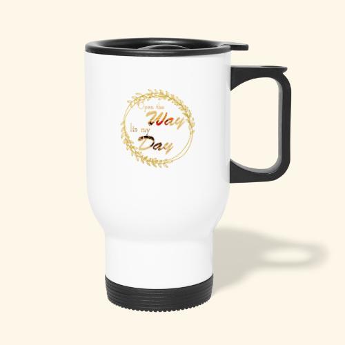 its my day weddingcontest - Thermal mug with handle