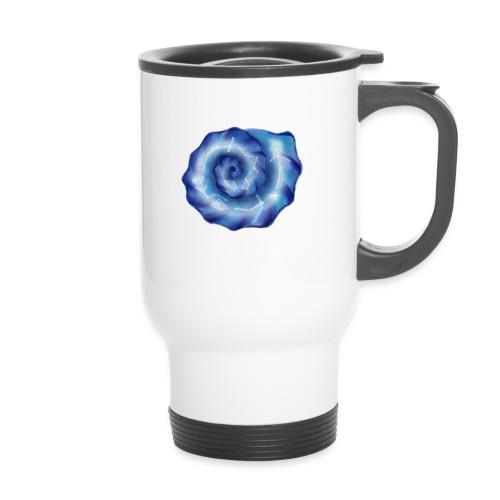 Galaktische Spiralenmuschel! - Thermobecher