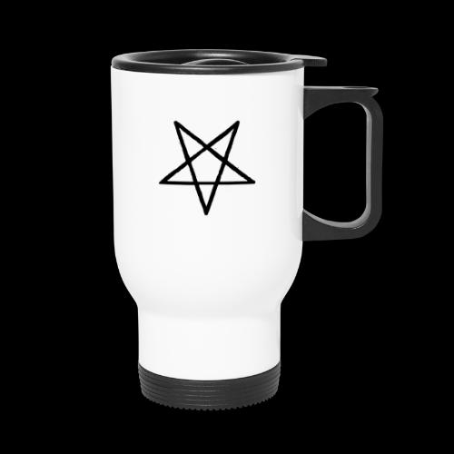 Pentagram2 png - Thermobecher
