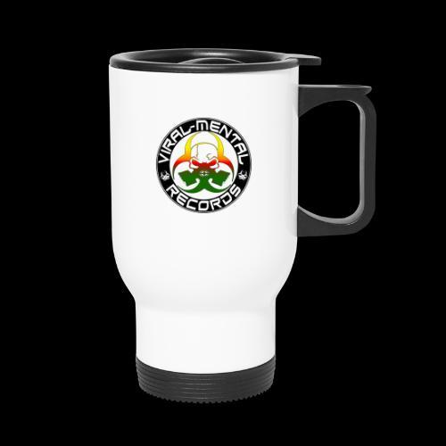 Viral Mental Records Logo - Travel Mug