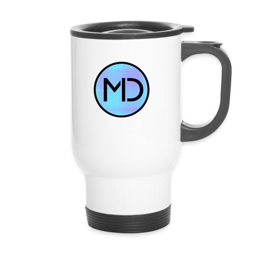MD Blue Fibre Trans - Travel Mug