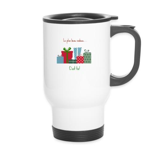 Le plus beau cadeau - Mug thermos