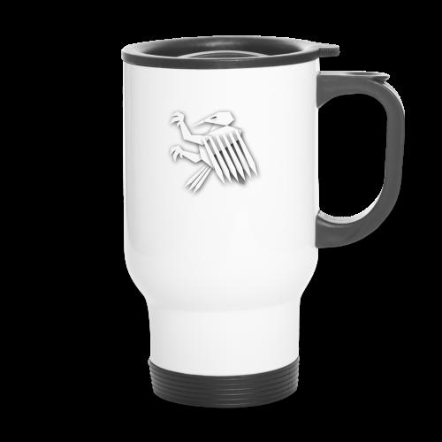Nörthstat Group ™ White Alaeagle - Travel Mug