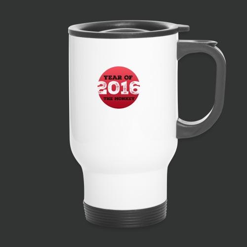 2016 year of the monkey - Travel Mug