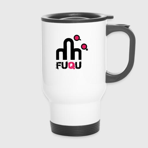 T-shirt FUQU logo colore nero - Tazza termica