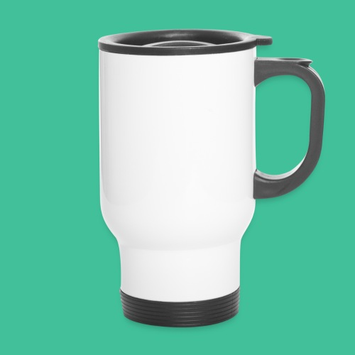 Velo Icon - Blk Track Jacket - Travel Mug