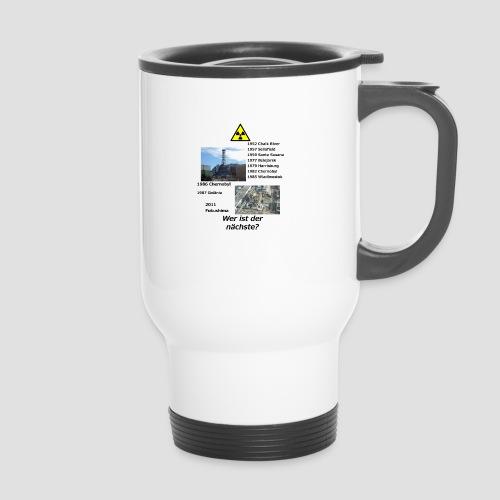no nuclear button (German) Wer ist der Nächste? - Travel Mug