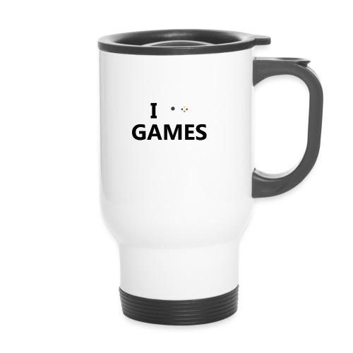 I Love Games - Taza termo