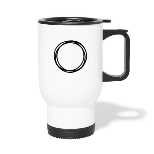 Circles and circles - Thermal mug with handle