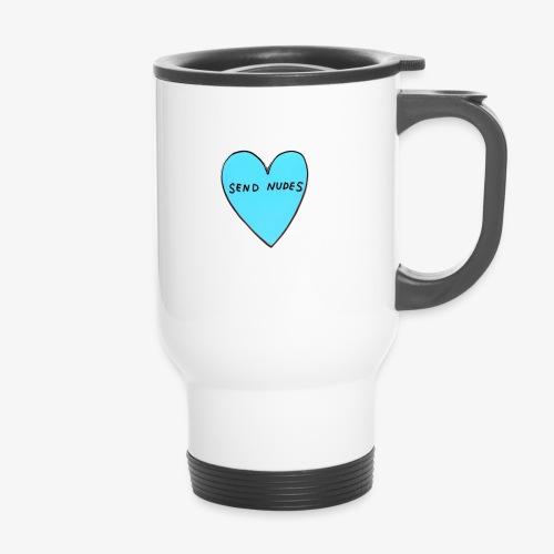send nudes - Travel Mug