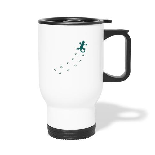 Messy Lizard Paws - Travel Mug