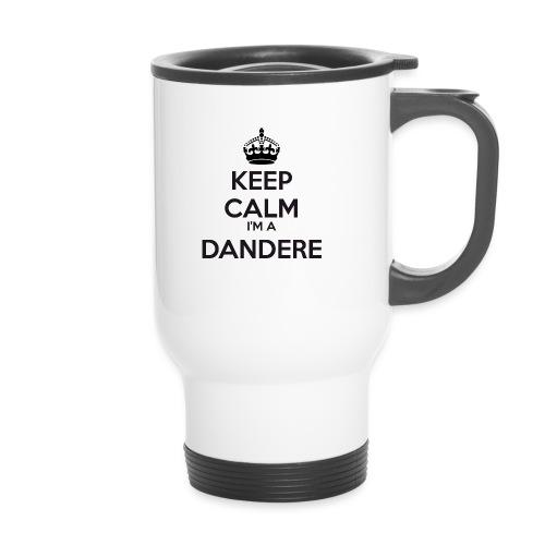 Dandere keep calm - Travel Mug